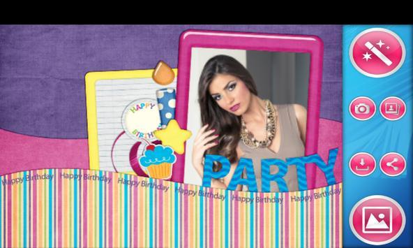 Birthday Photo Frames poster