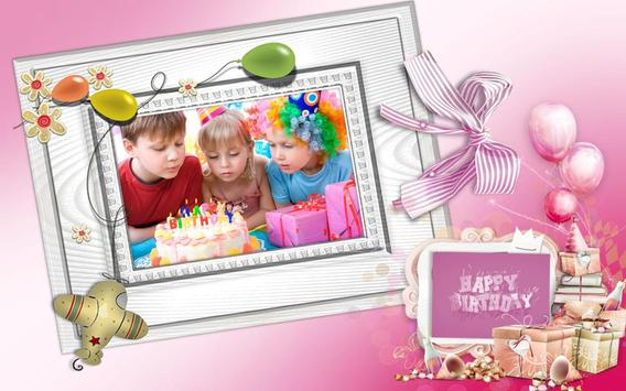 Birthday Photo Frames screenshot 4