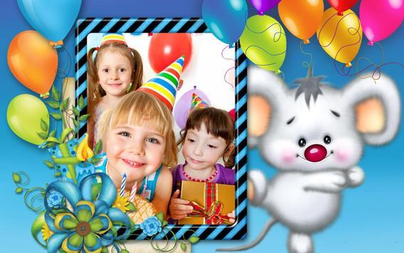 Birthday Photo Frames apk screenshot