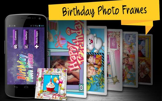 Birthday Photo Frames poster