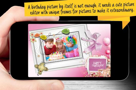 Birthday Photo Frames screenshot 2