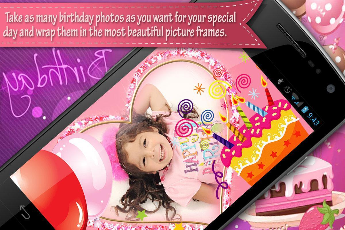 Cumpleaños Marcos Para Fotos Descarga APK - Gratis Fotografía ...