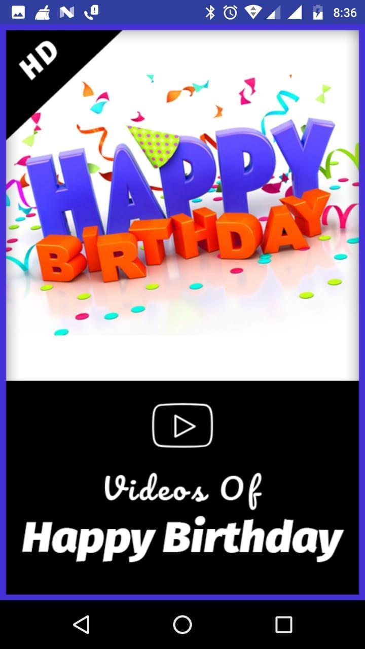 Birthday Video Songs for Android - APK Download