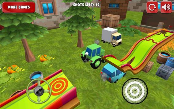 Mini Golf 3D Cartoon Farm apk screenshot