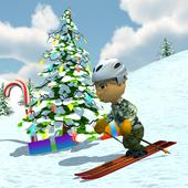 Ski Sim: Christmas icon
