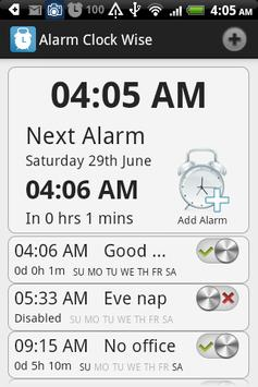 Alarm Clock Wise poster