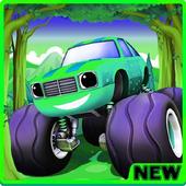 NEW Blaze Monster Trucks: Machine Racing icon