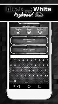 Black And White Keyboard Style screenshot 1