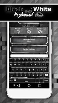 Black And White Keyboard Style screenshot 2