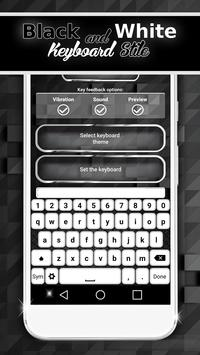 Black And White Keyboard Style screenshot 3