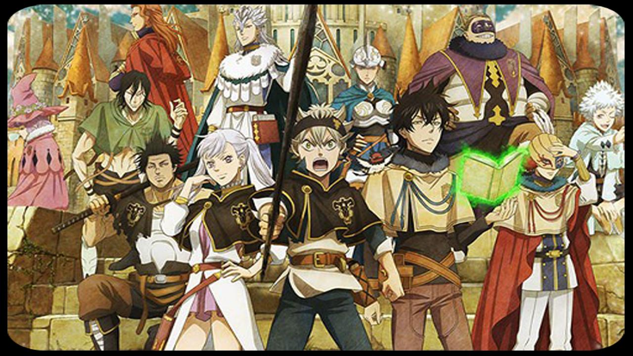 Black Clover Wallpaper For Android Apk Download