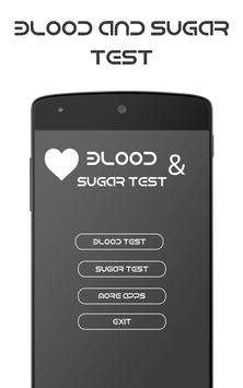 Blood & Sugar Test (Prank). poster