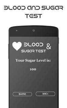 Blood & Sugar Test (Prank). apk screenshot