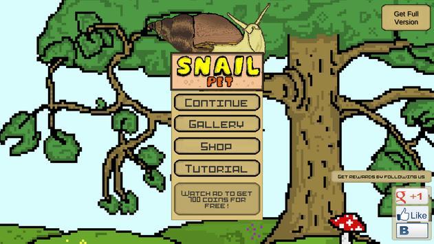 Snail Pet - Free Virtual Pet screenshot 1