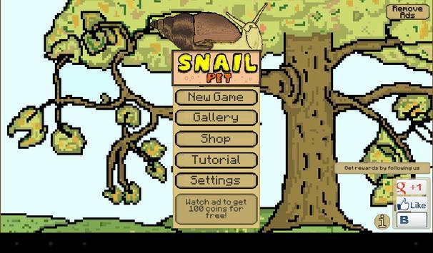 Snail Pet - Free Virtual Pet screenshot 6