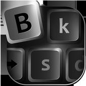 Black Keyboard Themes icon