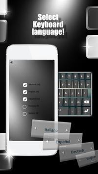 Black Keyboard Themes apk screenshot