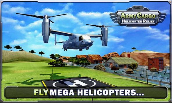 Army Helicopter - Cargo Relief screenshot 2