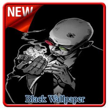 Black Wallpaper poster