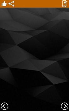 Black Wallpaper 4k poster
