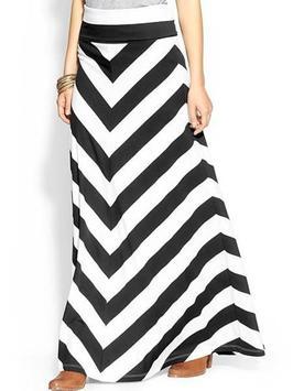 Black and White Mini Skirt screenshot 5