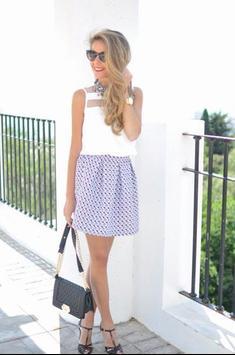 Black and White Mini Skirt screenshot 6