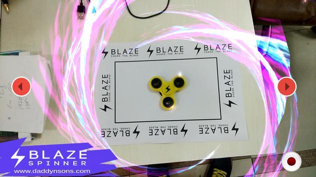 Blaze AR App poster