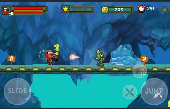 Blaze The Monster Fight Machines Games apk screenshot