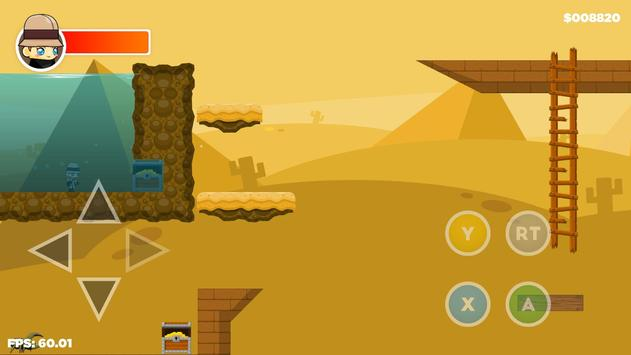 Izzy Anna Jones - 2D Adventure apk screenshot