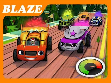 Blaze and Friend's Racing poster