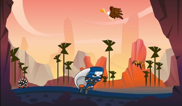 2D Ninja Warrior Dab Adventure apk screenshot