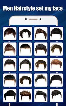 Men Hairstyle set my face screenshot 1