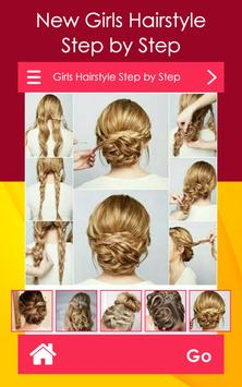 Girls Hairstyle Step by Step poster