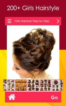 Girls Hairstyle Step by Step screenshot 1