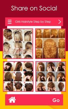 Girls Hairstyle Step by Step screenshot 2