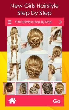 Girls Hairstyle Step by Step screenshot 4