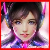 Fanart of Overwatch Characters icon