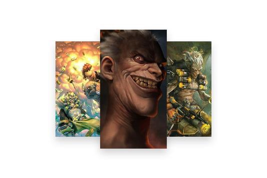 Fanart of Overwatch Characters screenshot 12