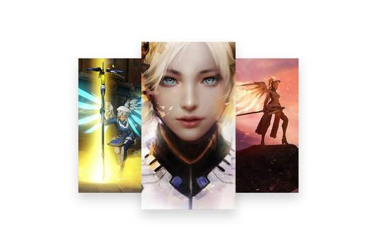 Fanart of Overwatch Characters screenshot 27