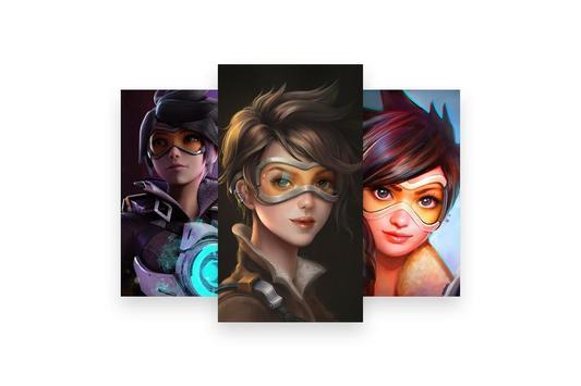 Fanart of Overwatch Characters screenshot 29