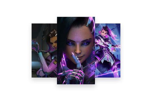 Fanart of Overwatch Characters screenshot 20