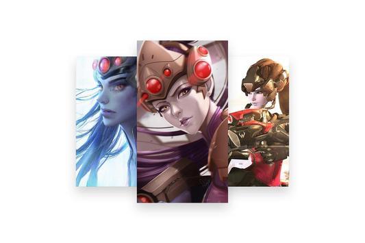 Fanart of Overwatch Characters screenshot 30