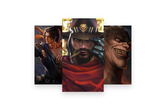 Fanart of Overwatch Characters screenshot 5