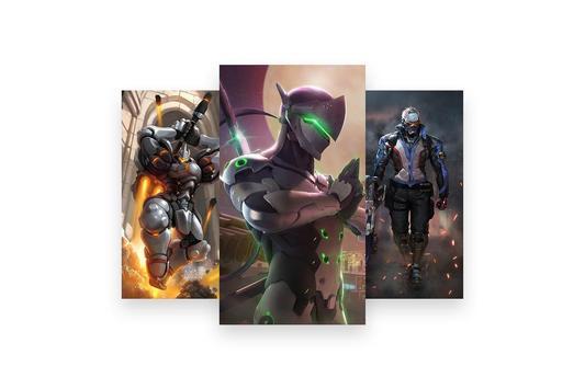 Fanart of Overwatch Characters screenshot 6