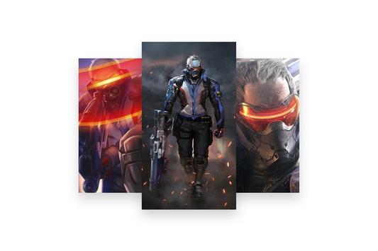 Fanart of Overwatch Characters screenshot 8