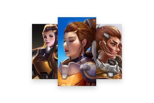 Fanart of Overwatch Characters screenshot 9