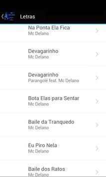 MC Delano Letras & Musica screenshot 1