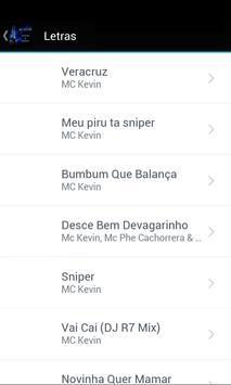 MC Kevin Letras screenshot 1