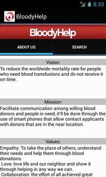 BloodyHelp Free apk screenshot