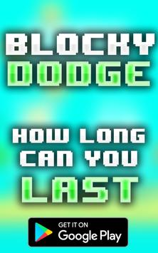 Blocky Dodge apk screenshot